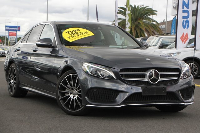 Used Mercedes-Benz C-Class W205 C300 BlueTEC Hybrid 7G-Tronic + Aspley, 2015 Mercedes-Benz C-Class W205 C300 BlueTEC Hybrid 7G-Tronic + Grey 7 Speed Sports Automatic Sedan