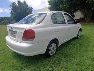 2003 Toyota Echo NCP12R MY03 White 4 Speed Automatic Sedan