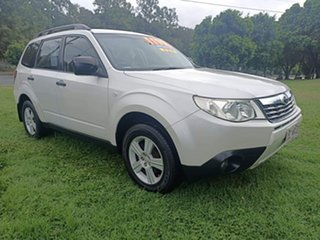 2010 Subaru Forester S3 MY10 X AWD Luxury White 4 Speed Sports Automatic Wagon.