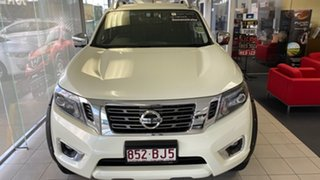 2020 Nissan Navara D23 S4 MY20 ST-X White Pearl 6 Speed Manual Utility.