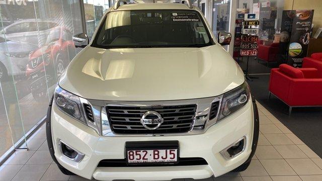 Demo Nissan Navara D23 S4 MY20 ST-X Moorooka, 2020 Nissan Navara D23 S4 MY20 ST-X White Pearl 6 Speed Manual Utility