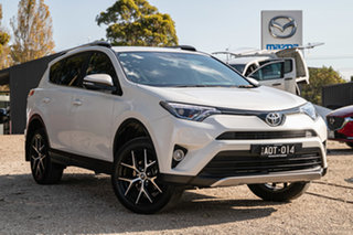 2017 Toyota RAV4 ZSA42R GXL Blizzard 7 Speed Automatic Wagon.