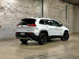 2014 Jeep Cherokee KL MY15 Limited White 9 Speed Sports Automatic Wagon
