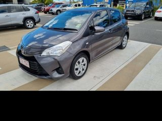 2017 Toyota Yaris NCP130R MY17 Ascent Graphite 4 Speed Automatic Hatchback