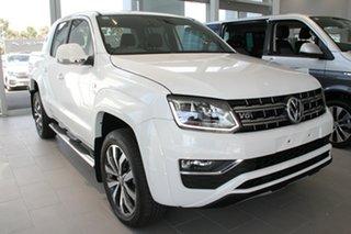 2020 Volkswagen Amarok 2H MY21 TDI580 4MOTION Perm Aventura White 8 Speed Automatic Utility.