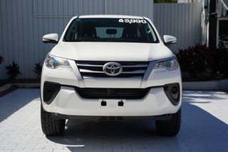 2017 Toyota Fortuner GUN156R GX White 6 Speed Automatic Wagon.
