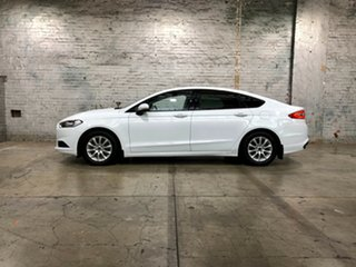 2016 Ford Mondeo MD Ambiente White 6 Speed Sports Automatic Hatchback