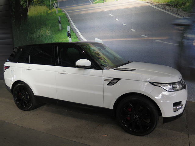 Used Land Rover Range Rover LW Sport 3.0 SDV6 HSE Osborne Park, 2014 Land Rover Range Rover LW Sport 3.0 SDV6 HSE White 8 Speed Automatic Wagon