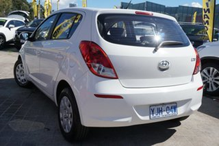 2014 Hyundai i20 PB MY14 Active White 4 Speed Automatic Hatchback