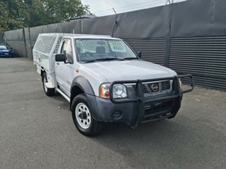 2002 Nissan Navara D22 MY2002 DX White 5 Speed Manual Cab Chassis.