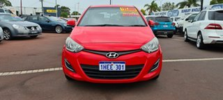 2013 Hyundai i20 PB MY13 Active Red 6 Speed Manual Hatchback.