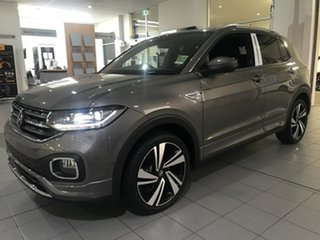 2020 Volkswagen T-Cross C1 85TSI Style Limestone Grey 7 Speed Semi Auto SUV.
