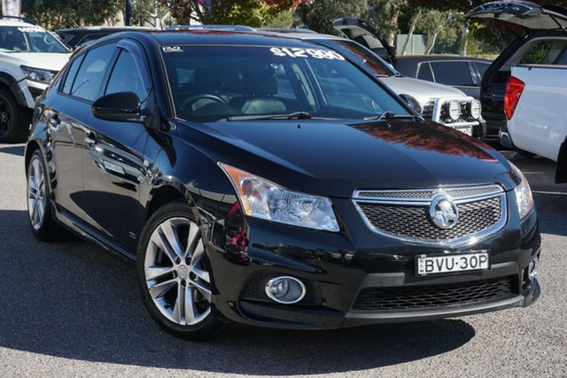 Used Holden Cruze JH Series II MY14 SRi Z Series Phillip, 2014 Holden Cruze JH Series II MY14 SRi Z Series Black 6 Speed Sports Automatic Sedan