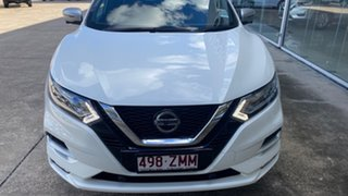 2019 Nissan Qashqai J11 Series 3 MY20 N-SPORT X-tronic Ivory Pearl 1 Speed Constant Variable Wagon