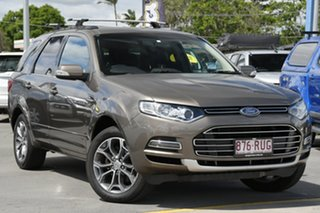 2011 Ford Territory SZ Titanium Seq Sport Shift Bronze 6 Speed Sports Automatic Wagon.