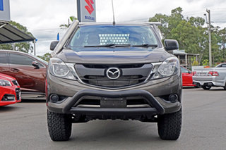 2017 Mazda BT-50 UR0YG1 XT Freestyle Grey 6 Speed Manual Cab Chassis.