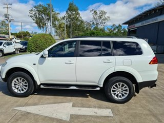 2012 Mitsubishi Challenger PB (KG) MY12 White 5 Speed Sports Automatic Wagon