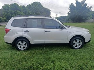 2010 Subaru Forester S3 MY10 X AWD Luxury White 4 Speed Sports Automatic Wagon