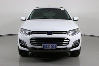 2015 Ford Territory SZ MK2 TS (RWD) White 6 Speed Automatic Wagon.