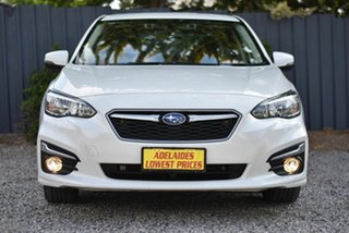 2017 Subaru Impreza G5 MY17 2.0i-L CVT AWD White 7 Speed Constant Variable Sedan.