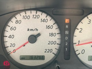 2005 Nissan Pulsar N16 MY2004 ST White 4 Speed Automatic Sedan.