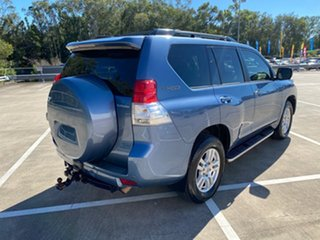 2009 Toyota Landcruiser Prado KDJ150R Kakadu (4x4) Blue 5 Speed Sequential Auto Wagon.