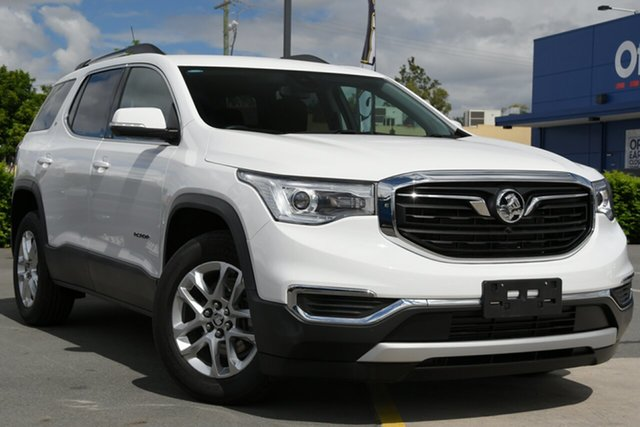 Used Holden Acadia AC MY19 LT 2WD Aspley, 2018 Holden Acadia AC MY19 LT 2WD White 9 Speed Sports Automatic Wagon