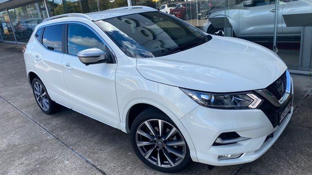 Demo Nissan Qashqai J11 Series 3 MY20 N-SPORT X-tronic Moorooka, 2019 Nissan Qashqai J11 Series 3 MY20 N-SPORT X-tronic Ivory Pearl 1 Speed Constant Variable Wagon