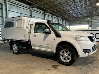 2012 Great Wall V200 K2 MY12 White 6 Speed Manual Cab Chassis.