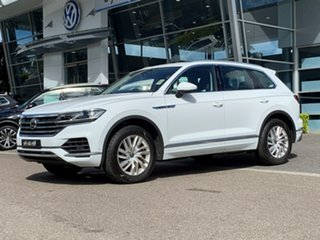 2021 Volkswagen Touareg CR MY21 170TDI Tiptronic 4MOTION White 8 Speed Sports Automatic Wagon.