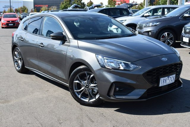 Used Ford Focus SA 2020.25MY ST-Line Essendon Fields, 2019 Ford Focus SA 2020.25MY ST-Line Grey 8 Speed Automatic Hatchback