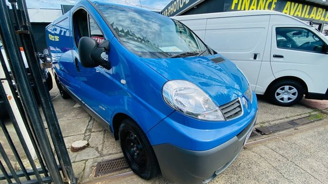 Used Renault Trafic X83 Phase 3 Low Roof LWB Quickshift Maidstone, 2014 Renault Trafic X83 Phase 3 Low Roof LWB Quickshift Blue 6 Speed Seq Manual Auto-Clutch Van