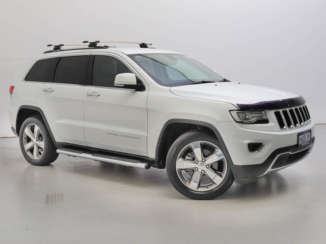 Used Jeep Grand Cherokee WK MY14 Limited (4x4), 2014 Jeep Grand Cherokee WK MY14 Limited (4x4) White 8 Speed Automatic Wagon