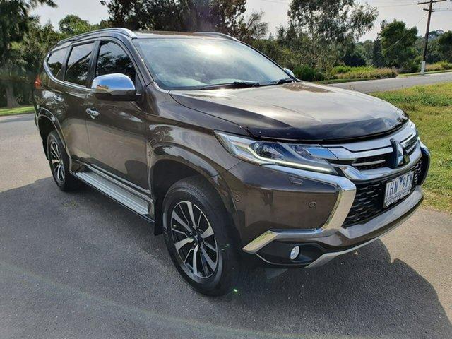 Used Mitsubishi Pajero Sport QE Exceed Geelong, 2016 Mitsubishi Pajero Sport QE Exceed Bronze Sports Automatic Wagon