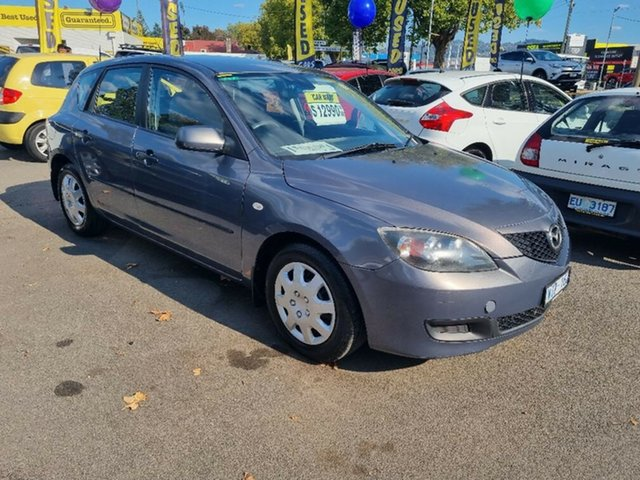 Used Mazda 3 BK10F2 Neo Launceston, 2008 Mazda 3 BK10F2 Neo Grey 4 Speed Sports Automatic Hatchback
