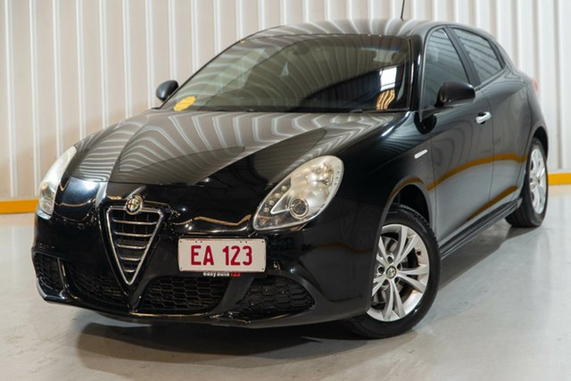 Used Alfa Romeo Giulietta Series 0 MY13 Progression Hendra, 2013 Alfa Romeo Giulietta Series 0 MY13 Progression Black 6 Speed Manual Hatchback
