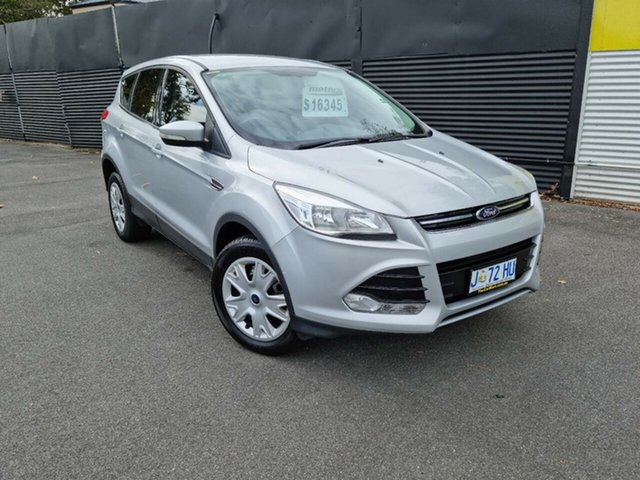 Used Ford Kuga TF Ambiente AWD Launceston, 2014 Ford Kuga TF Ambiente AWD Silver 6 Speed Sports Automatic Wagon