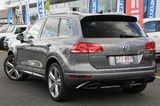 2015 Volkswagen Touareg 7P MY15 V8 TDI Tiptronic 4MOTION R-Line Grey 8 Speed Sports Automatic Wagon.