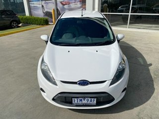 2012 Ford Fiesta WT LX PwrShift White 6 Speed Sports Automatic Dual Clutch Hatchback