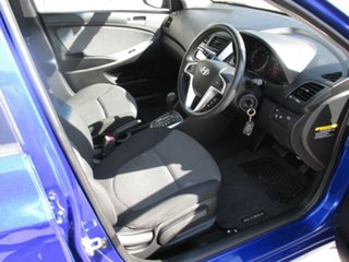 2011 Hyundai Accent RB Active Blue 4 Speed Sports Automatic Sedan