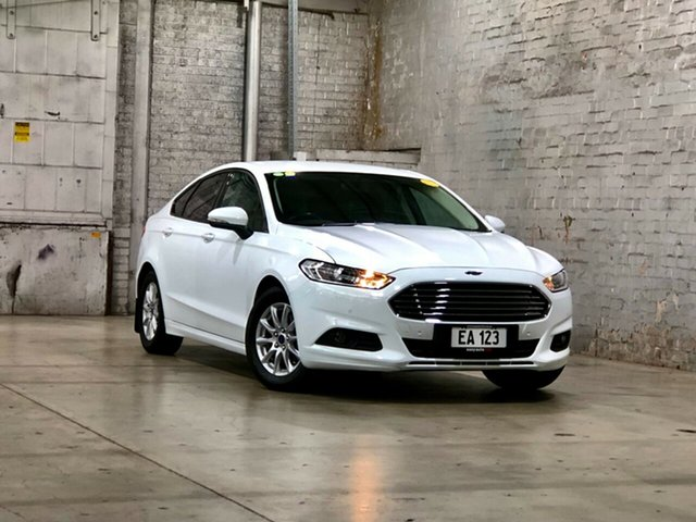 Used Ford Mondeo MD Ambiente Mile End South, 2016 Ford Mondeo MD Ambiente White 6 Speed Sports Automatic Hatchback