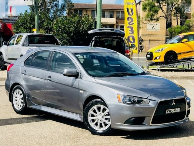 Used Mitsubishi Lancer CJ MY12 Activ Sportback Liverpool, 2012 Mitsubishi Lancer CJ MY12 Activ Sportback Grey 6 Speed Constant Variable Hatchback
