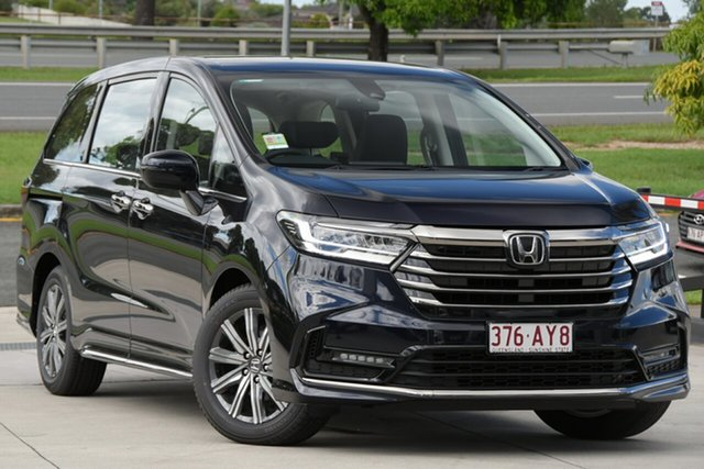 Demo Honda Odyssey RC 21YM Vi L7 North Lakes, 2020 Honda Odyssey RC 21YM Vi L7 Premium Twinkle Black 7 Speed Constant Variable Wagon