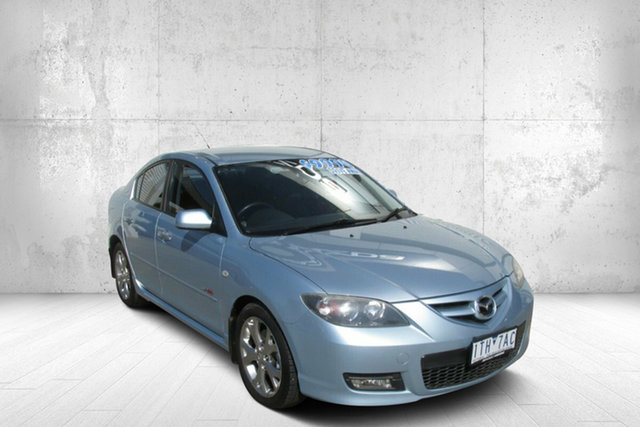 Used Mazda 3 BK1032 SP23 Bendigo, 2007 Mazda 3 BK1032 SP23 Blue 5 Speed Sports Automatic Sedan