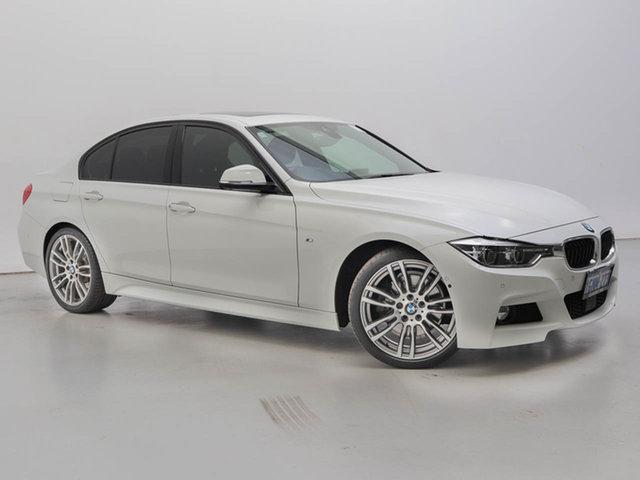 Used BMW 330i F30 LCI M Sport, 2015 BMW 330i F30 LCI M Sport White 8 Speed Automatic Sedan
