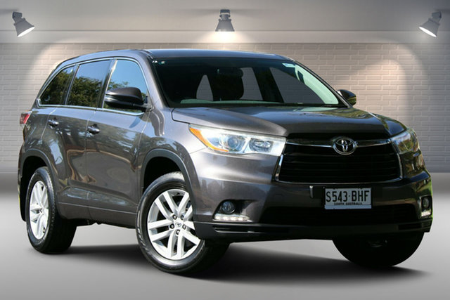 Used Toyota Kluger GSU50R GX 2WD Nailsworth, 2015 Toyota Kluger GSU50R GX 2WD Grey 6 Speed Sports Automatic Wagon