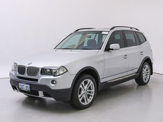 2008 BMW X3 E83 MY07 2.5SI Silver, Chrome 6 Speed Auto Steptronic Wagon.