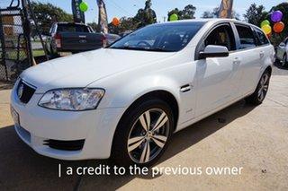 2011 Holden Commodore VE II Omega Sportwagon Heron White 6 Speed Sports Automatic Wagon.
