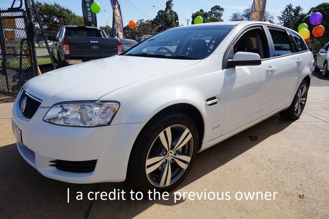 Used Holden Commodore VE II Omega Sportwagon Dandenong, 2011 Holden Commodore VE II Omega Sportwagon Heron White 6 Speed Sports Automatic Wagon