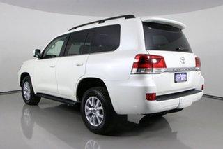2021 Toyota Landcruiser VDJ200R LC200 VX (4x4) Pearl White 6 Speed Automatic Wagon